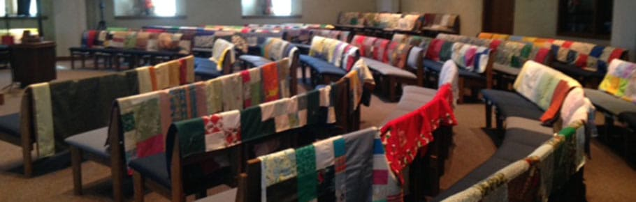 Quilts in church